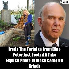 Cable Meme - clickbait robot on twitter freda the tortoise from blue peter