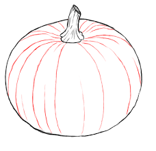 coloring lovely draw pumpkin cartoon 7 coloring