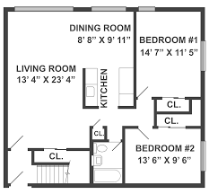 Bedroom Floor Plan by Colonial Style Garden Apartments For Rent In Mahwah Nj Mall