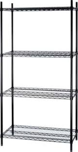 Staples Bookshelves by Staples Has The Whalen 72 U0027 U0027 Complete Wire Shelving Unit Black