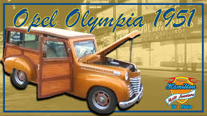 opel olympia 1952 opel olympia 1951 youtube