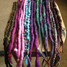 dreadlock accessories 9 best brighton dreadlocks synthetic dreads images on