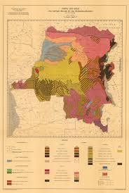 Rwanda Map Carte Des Sols Du Congo Belge Et Du Ruanda Urundi Soil Map Zaire