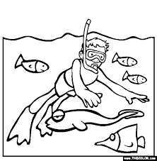 beach coloring pages 1
