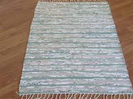 Rust Bathroom Rugs Hand Woven Rag Rugs Three Feet Wide Elizabeth U0027s Loom Room