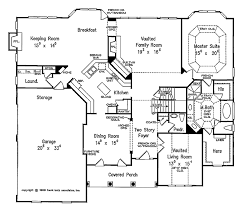 traditional style house plan 4 beds 3 5 baths 3718 sq ft plan