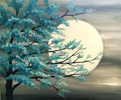 tree painting ideas painting ideas at last show your imagination to