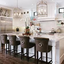 island chairs for kitchen ellison swivel bar and counter stools antique brass upholstery