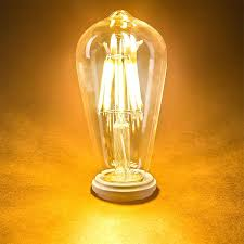 dimmable light bulbs lowes vintage edison smooth round filament bulb vintage led light bulbs