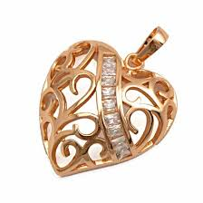 necklace pendants heart images Rose gold heart pendant gold jewelry gold jewelry online shop jpg