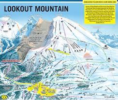 Mountain Map Sunshine Village Skimap Org