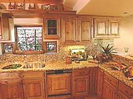 natural kitchen design natural style graces southwest kitchens hgtv