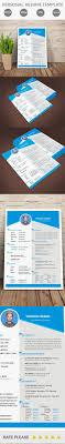 personal resume template personal resume template free on behance