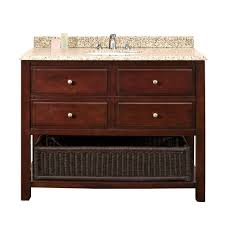 Ove Vanity Costco Ove Decors Danny 42 In W X 21 In D Vanity In Chocolate With