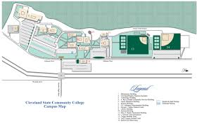 Cleveland Map Campus Maps Cleveland State Community College Acalog Acms