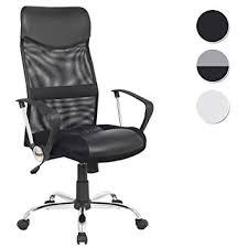 chaise de bureau pivotante sixbros chaise de bureau pivotante noir h 935 6 1319 amazon fr