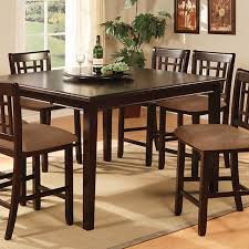 tables in central park central park iii dark cherry counter height table set shop for