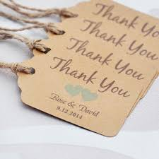 wedding tags personalized thank you wedding tags with 6 colors heart you can