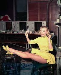 vera ellen in white christmas love yellow shoes pinterest