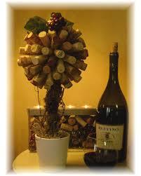 Christmas Topiaries Wine Cork Topiary Cork Cork Wreath And Wine