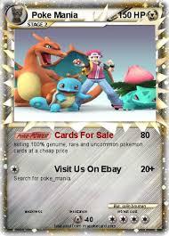 pokémon poke mania cards for sale my card