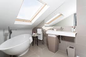 modern white bathroom suites ideas with mosaic tile walls loversiq