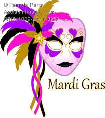 pink mardi gras mask image of a golden carnival mardi gras mask
