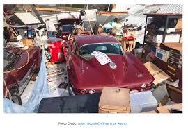 corvettes and more kentucky tornado destroys garage corvettes and more inside