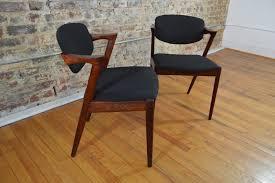 Plycraft Eames Chair Set Of Six Kai Kristiansen For Schou Andersen Rosewood Model 42