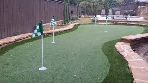 backyard putting green turf home outdoor decoration
