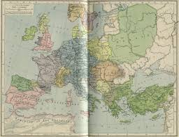 Map Of Europe 1500 by Whkmla Historical Atlas Italy Page