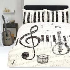 music themed queen comforter music duvet covers shop sheets sets musical notes comforters duvet