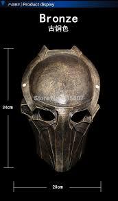 resin alien vs predator movie warrior eagle mask halloween costume