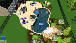 Mountain Lake Pool Design by Mountain Lake Style Pool With Waterfall In Lehigh County Designed