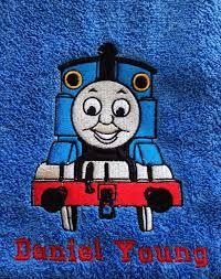 thomas tank engine embroidery design cartoon embroidery