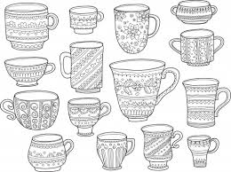 Coffee Cup Coloring Page Kidspressmagazine Com Cup Coloring Page