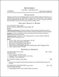 finance resume template finance resume format resume template ideas