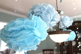 Baby Shower Centerpiece Ideas by Baby Shower Decorations Handmade Babyshowertissuepompoms Baby