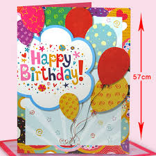 birthday cards cheerful happy birthday jumbo card at best prices in india