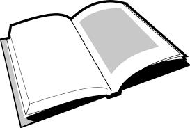 open book clipart black white cliparts art