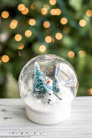 make your own snow globes for
