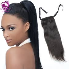 ponytail extensions 1b human hair drawstring ponytail extensions remy hair