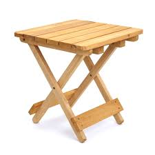 Folding Wood Picnic Table Impressive Wood Folding Tables Incredible Outdoor Side Table With