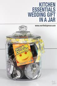 wedding gift kitchen kitchen essentials wedding gift in a jar the big moon