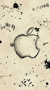 apple sketch iphone se wallpaper download iphone wallpapers