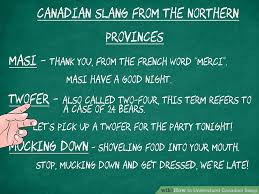 British Words For Bathroom How To Understand Canadian Slang With Examples
