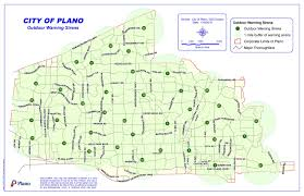 map plano warning siren map plano tx official website