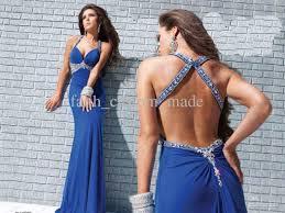 royal blue chiffon prom dress dress on sale
