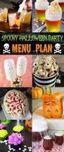 spooky halloween party menu plan bread booze bacon