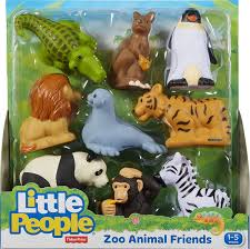amazon com fisher price little people zoo animal friends toys
